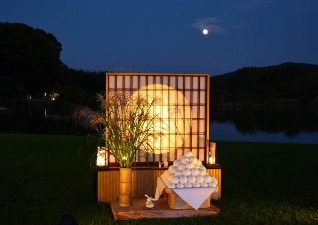 後楽園で愛でる「中秋の名月」 秋恒例「名月鑑賞会」に行こう