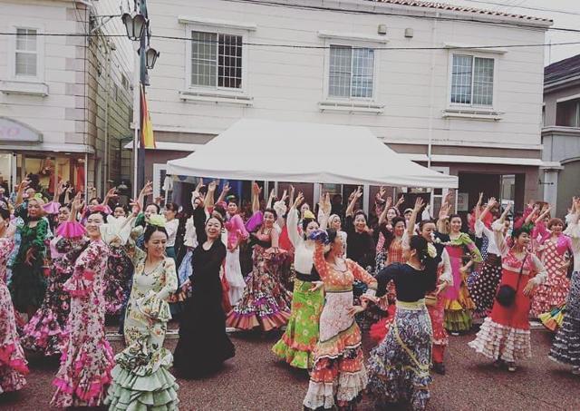 全国から100人のダンサーが集結! 「パセオでフラメンコ」今年も開催