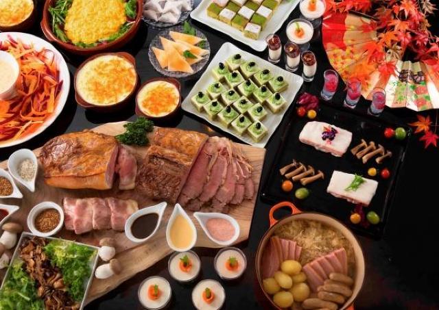 京都の素材をいかした料理など約50種!「京の秋 グルメビュッフェ」