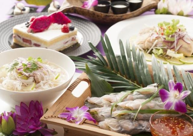 ヘルシーであっさりとした味付け 色鮮やかなベトナム料理に舌鼓