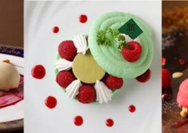 ケーキでXmasツリーを再現! 3種の新作スイーツ、リーガロイヤルホテル京都に登場