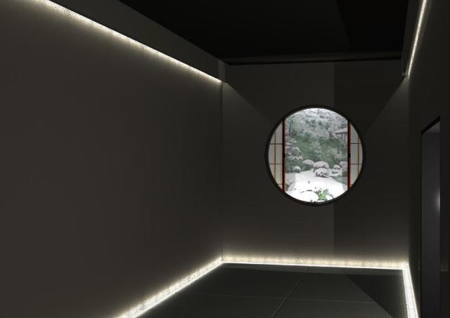 六本木に暗闇茶室が出現! ホットな「綾鷹」を五感で楽しむイベント