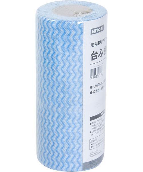 ニトリ「カット式台ふきん」(205円)が衛生的で最高! キッチンに革命が起きる