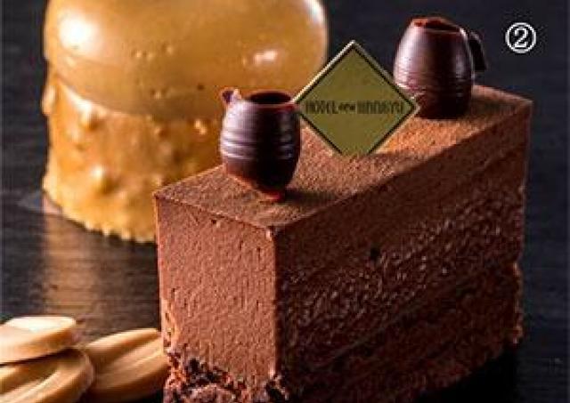 濃厚なチョコケーキはいかが? 大阪新阪急ホテルに冬ケーキ2種登場