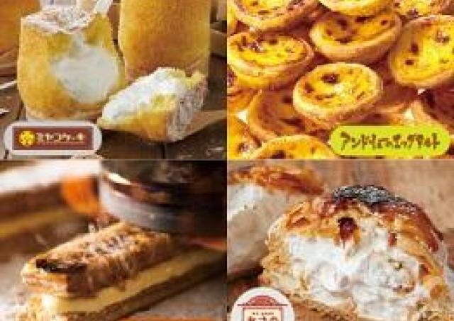 タルト、ロールケーキ、パイ...話題の人気スイーツがmozoに集合!
