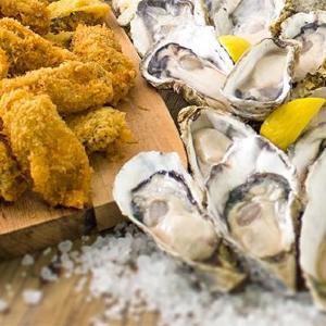 旬の牡蠣が食べ放題! 生、フライ、素焼き...5種を好きなだけ
