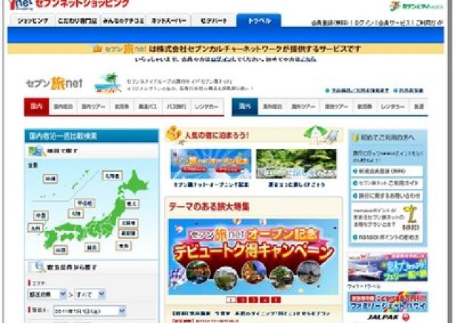 セブンネットの旅行サービス 「7」にまつわる特典プラン