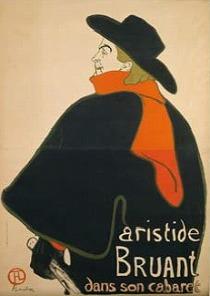 「アリスティド・ブリュアン、彼のキャバレーにて」(1893年)