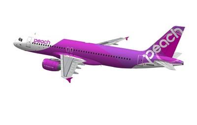 ピンクの飛行機!