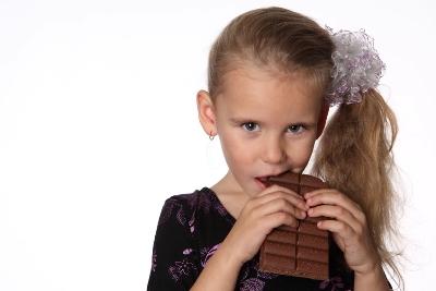 私のほうがチョコレート好きだもん