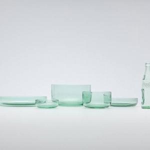コカ・コーラの「ボトル」が食器に 500個限定nendoデザインのテーブルウェア