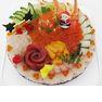 「2012 クリスマス 寿司デコケーキ」(4920円/4~5人用)※画像はイメージ