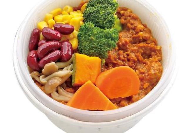 タニタとのコラボ弁当第2弾 ローソン、野菜たっぷりキーマカレー発売