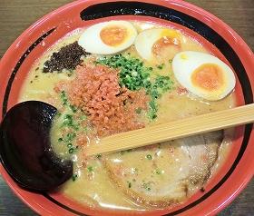 「そのまま」スープの「えびしお」(750円)