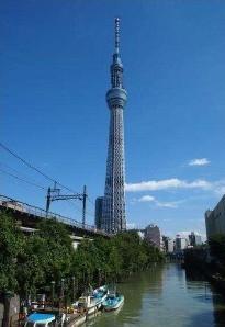 北十間川・源森橋からの眺め