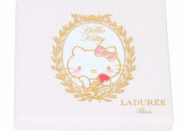 ラデュレのマカロン、「キティ」とコラボ!