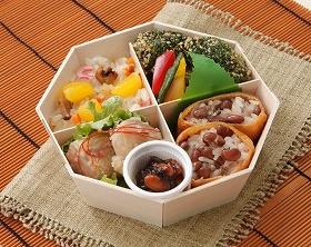 「丸の内レディ美食弁当」(750円)