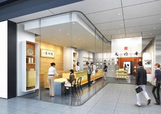 フレンチカフェも併設 「文明堂」日本橋本店がリニューアル