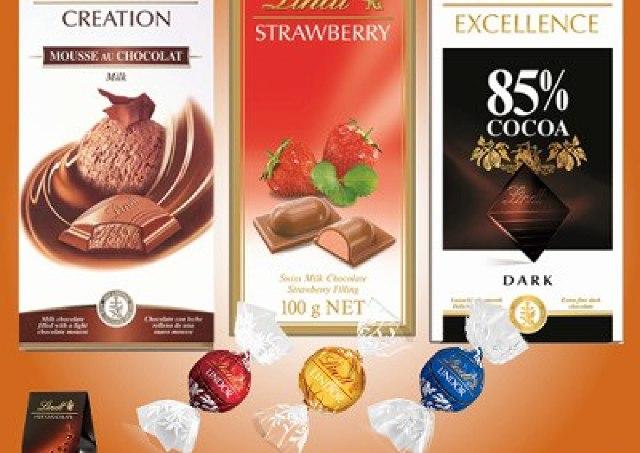 「リンツ ショコラ カフェ」自由が丘店1周年 限定お得セットも