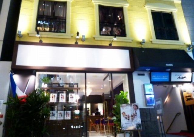 「ジョエルジュラン」の大人気パフェどうぞ 夏だけのカフェOPEN