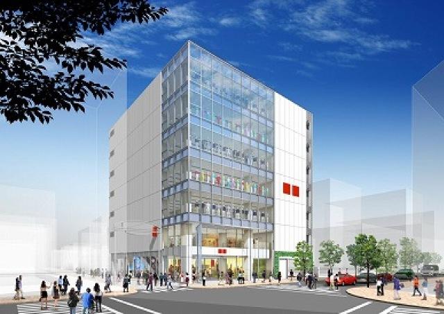 7階建て大型「ユニクロ」 吉祥寺駅近くに2014年秋誕生