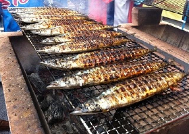 毎年恒例「目黒のさんま祭り」 新鮮なさんま6000匹を無料配布
