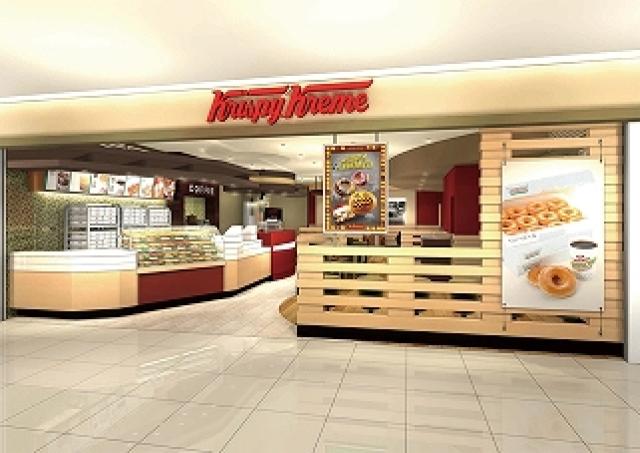 「クリスピー・クリーム・ドーナツ」 セノバにオープン