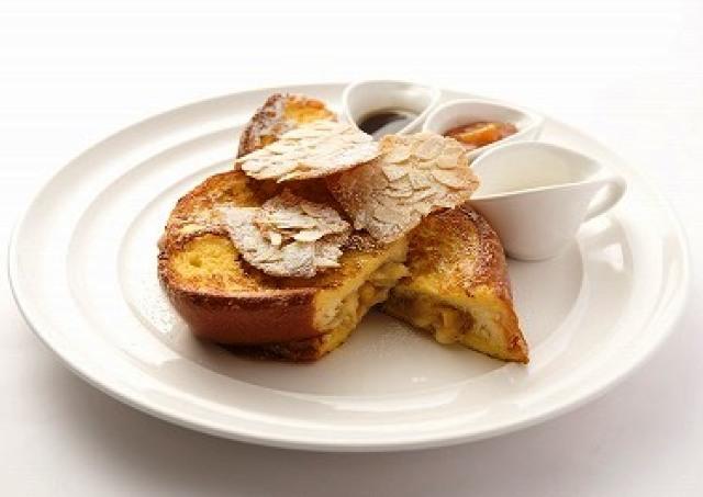 外カリカリ&中ふわふわの極上フレンチトースト 朝食の女王「サラベス」新宿店限定メニュー