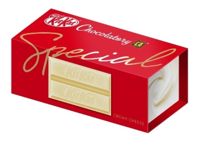 話題のキットカット専門店限定 新フレーバー「スペシャル クリームチーズ」
