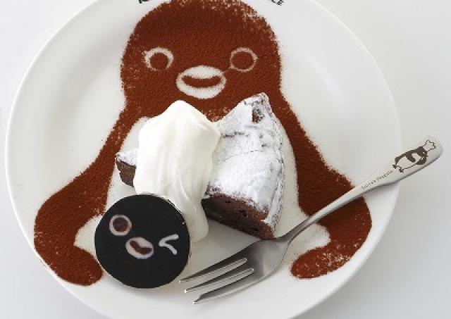 そんな目で見ないで... 「Suicaのペンギン」カフェがKITTEにオープン
