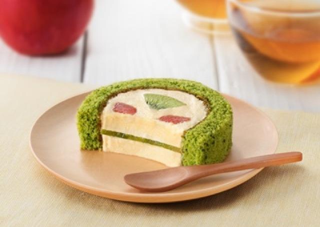 ほうれん草、ケール、セロリ... 「野菜&フルーツ」使ったローソンの新プレミアムロールケーキ