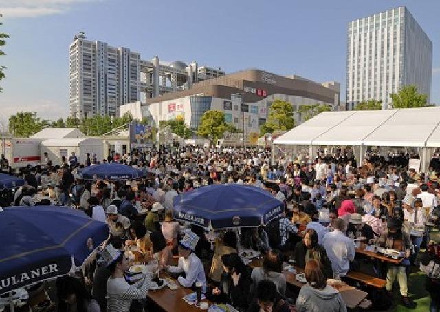 日本最大級のビールの祭典「お台場オクトーバーフェスト」 今年は日本初上陸ビールも