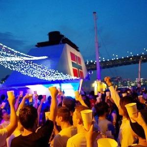 浴衣を着て1000円オフ 夜景スポットをめぐるクルージング「東京湾納涼船 2014」