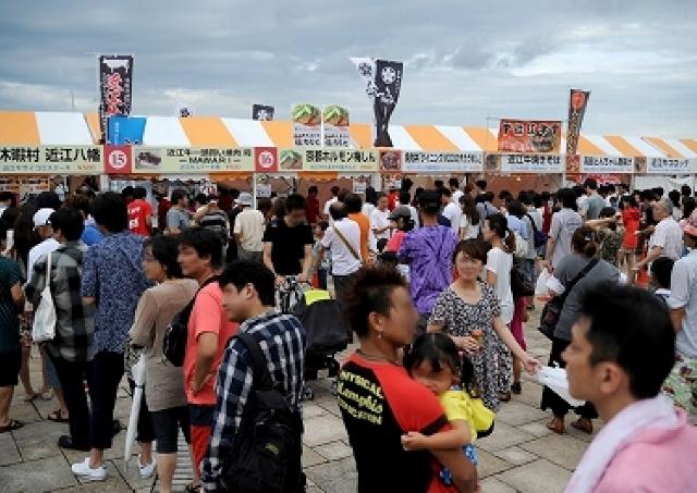滋賀県大津港で牛肉料理No.1を決定 「牛肉サミット2014」
