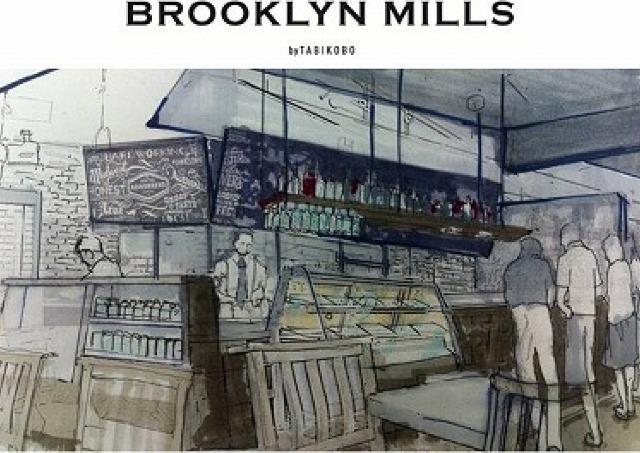 NYブルックリンの街並みを再現 コーヒー飲みながら旅行相談できるカフェOPEN