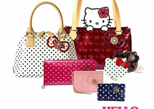キティちゃんが大人かわいいバッグに クレイサスとコラボ
