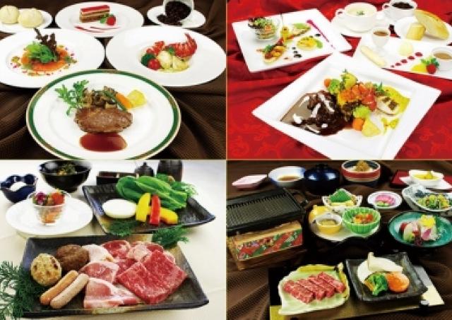 ロマンチックなデートを演出!六甲山ホテルで神戸イルミナージュ鑑賞券付きディナープラン