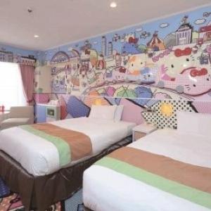 キティちゃんとおやすみなさ...Zzz 京王プラザホテルの「ハローキティルーム」