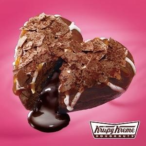 私のハートも温めて!! クリスピー・クリームのバレンタイン限定ドーナツはチョコとろ~り