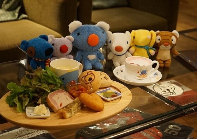 渋谷タワレコカフェが人気キャラ「ペネロペ」とコラボ フランスのおそうざい召し上がれ!