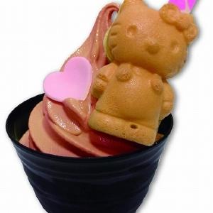 キティちゃんもガンプラもチョコに変身中 ダイバーシティのキャラ系バレンタイン
