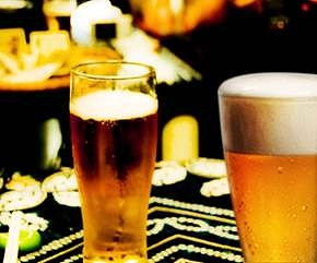 沉浸与和式风情中的啤酒乐园