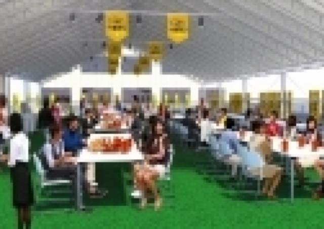 旭川グランドホテル初 「屋上ビアガーデン」が7月1日オープン