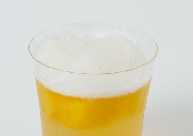 ビールそっくりだけど... マンゴーチャチャ有楽町に大人の「マンゴービールゼリー」