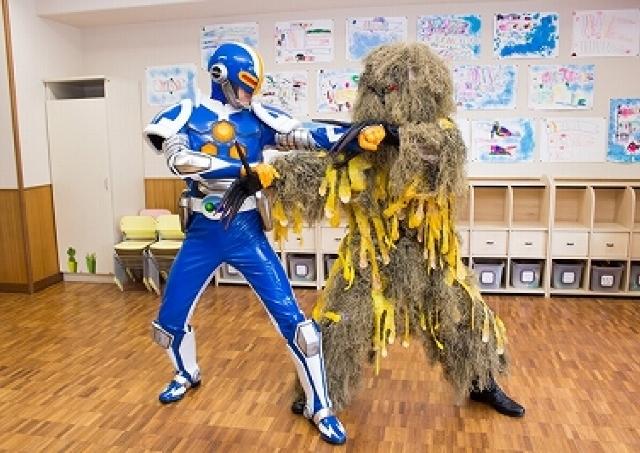 ウイルス怪人と戦う「除菌戦士ジョキンジャー」 リアルで白熱?待望の最新動画が公開