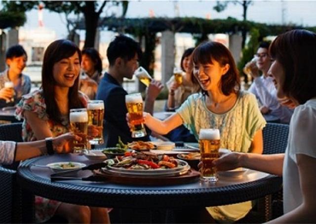 お酒苦手な女子も大歓迎!オシャレカクテルで乾杯できる運河沿いビアガーデン