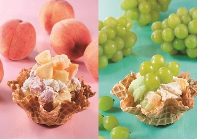 コールド・ストーンから「生フルーツショートケーキ」 No.1メニューから生まれた日本上陸10周年記念