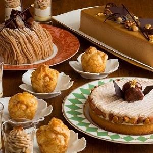 木・金だけの大人気デザートブッフェ 「栗」がテーマの10月分、予約は8月1日から