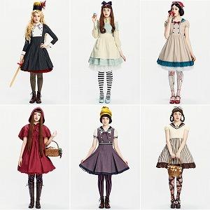 93121372f9ff2d ランジェリーも童話の世界へ ヒロインになれる童話ブラ&ショーツ : 東京 ...