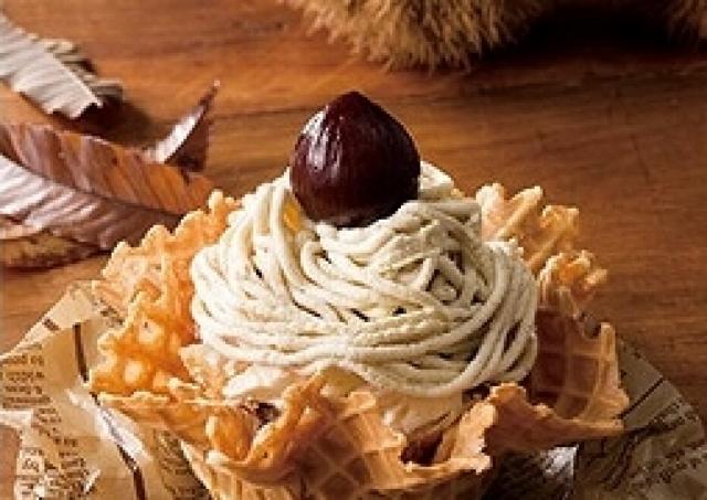 熊本産和栗、栗カボチャ使ったケーキみたいな華やかアイス!コールド・ストーンの秋限定商品2種